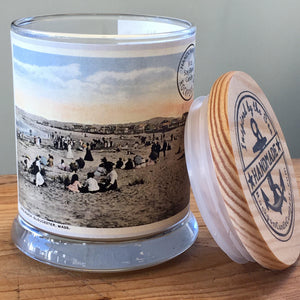 Rockport Candle Company Long Beach Postcard candle