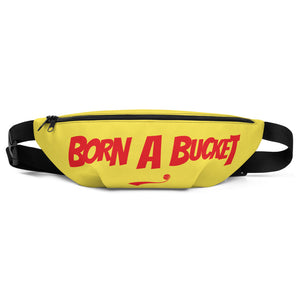 "Skeeeooop ""BORN A BUCKET"" Fanny Pack - GOLD"