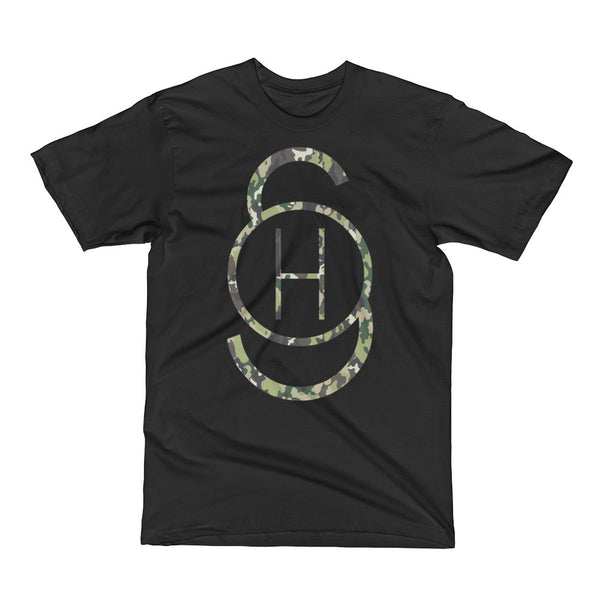 Stoked Heroes Men's Short Sleeve T-Shirt - Camou