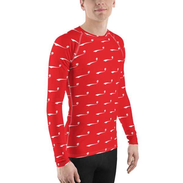 Skeeeooop Icon Men's Rash Guard Shirt