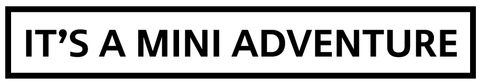 It's a MINI Adventure - Vinyl Decal (1002)