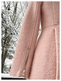 The Revival Pink Coat Size Small / Medium