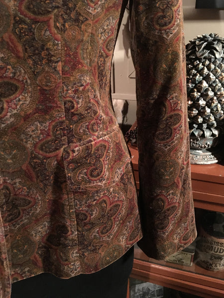 Floral Dress Jacket Size 8 Medium