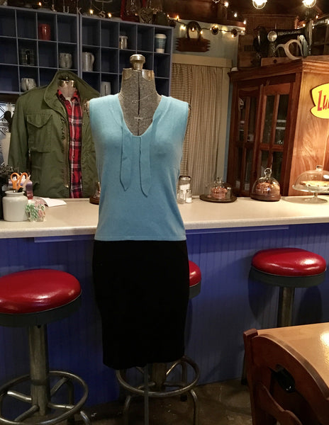 Blue Sweater Vest Size Small