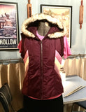 Plum Vest Jacket Size Small