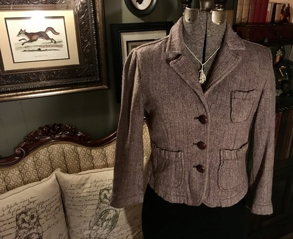 Oxford Dress Jacket Size Medium