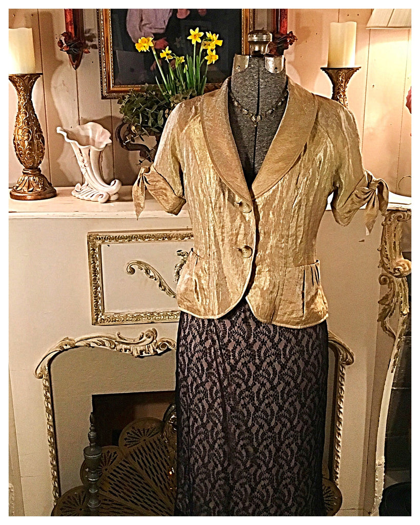 Gold Proposal Jacket Size 6 Medium