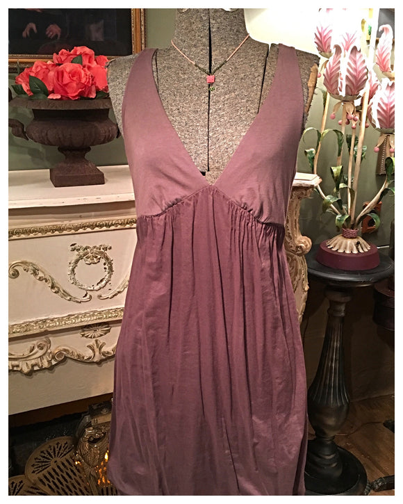 Brown Grecian Dress Size Small