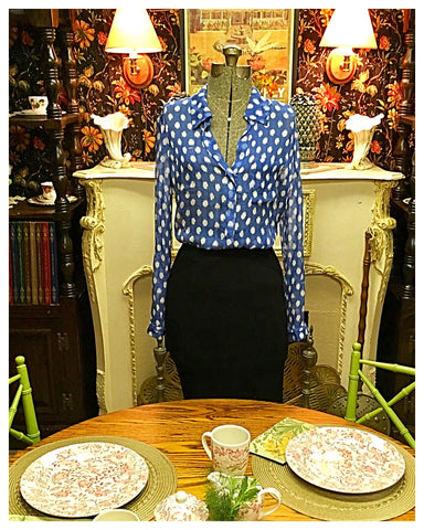 Lorelai - Lorelei Two Blouse Size 8 Medium Large