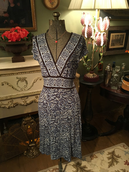 Blue Speckle Dress Medium