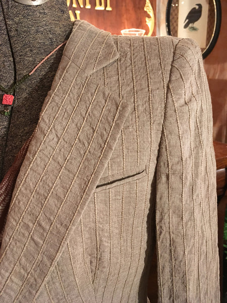 Beige Dress Jacket Blazer Size XS Small