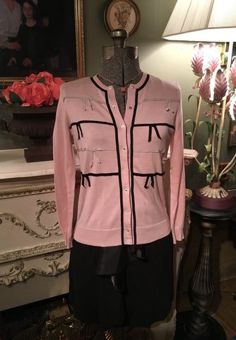 Pink Marc Jacobs Cardigan Size Small