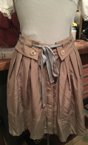 Beige Skirt Size XS Small