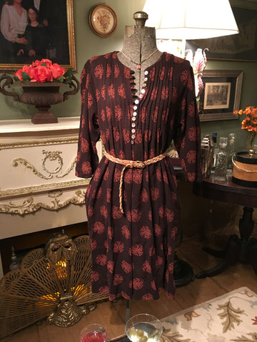 Boho Dress Free Size Small Medium Large XL