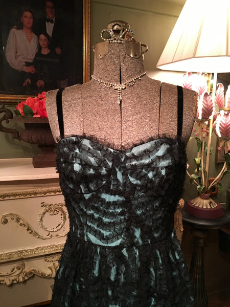 Yale Soirée Black Party Dress Size 6 Small Medium
