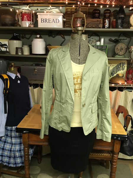 Dragonfly Army Green Jacket Size Medium