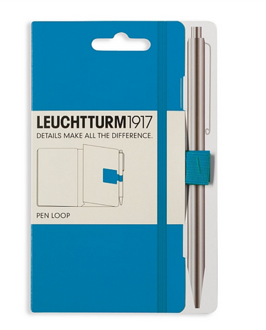 Leuchtturm 1917 Pen Loop - Ice Blue