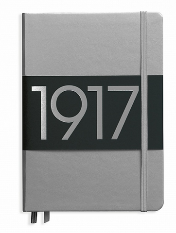 Leuchtturm1917 Special Anniversary Edition Silver A5 Dot Grid Medium Notebook