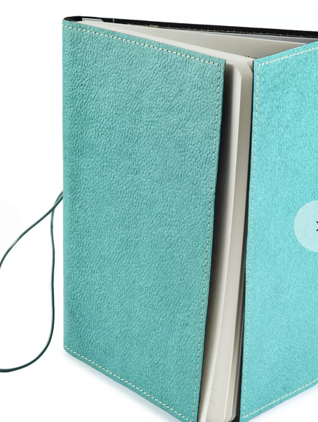 Ecoleatherette A5 Ruled Journal - Green