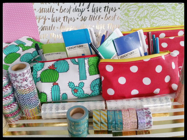 Journal Starter Pack - Pencil Case/Pouch plus your choice of 2 Accessories)
