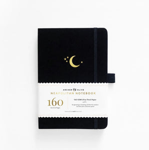 Archer & Olive A5 Crescent Moon Neapolitan Dot Grid Notebook