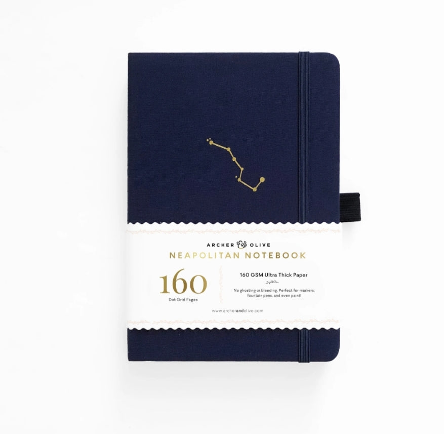 Archer & Olive A5 Night Sky Neapolitan Dot Grid Notebook