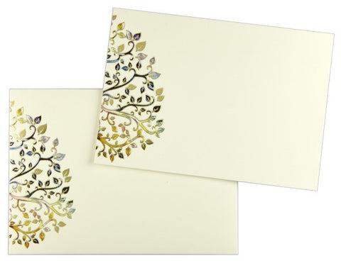 Colorful Leaves Note Cards