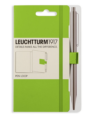Leuchtturm 1917 Pen Loop - Lime