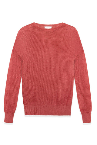 Paige Sweater: Open Mesh Weave Sweater