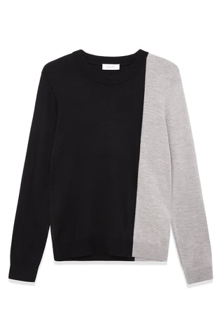 Colour Block Merino Wool Sweater