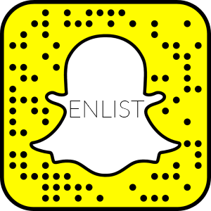 Enlist Snapchat Icon