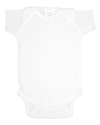 Rabbit Skins Infants'5 oz. Baby Rib Lap Shoulder Bodysuit