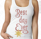 Best Day Ever Tank Top . Couples Shirts for Disney .