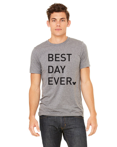Best Day Ever Shirt. Best Day Ever. Disney tank. Disney Vacation tee.
