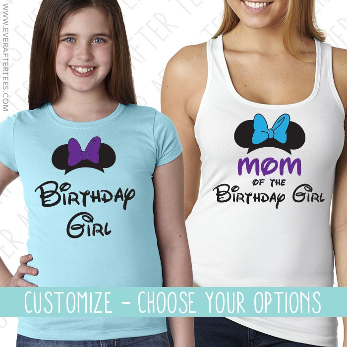 Birthday Girl / Boy Family Matching T-shirts