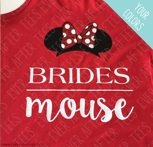 Disney Bachelorette Party Tank Brides Mouse