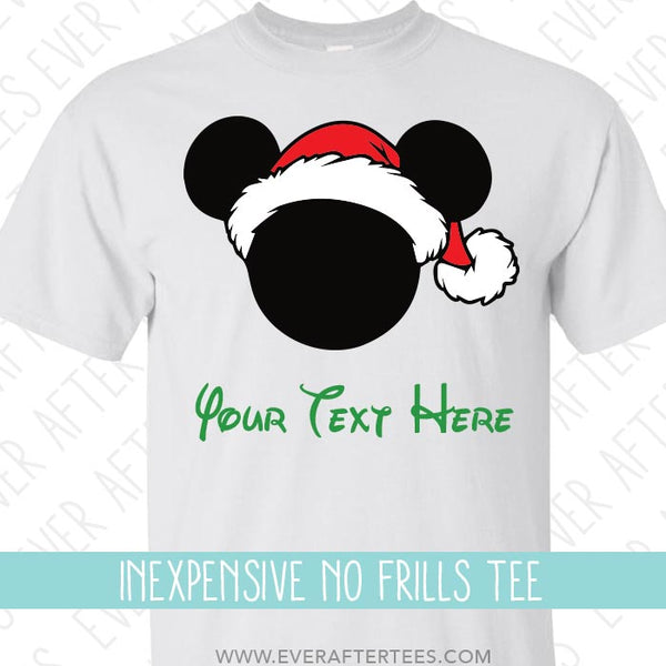 $14 Disney Family Vacation Christmas Party T-Shirts . MVMCP shirts . Christmas in Disney .