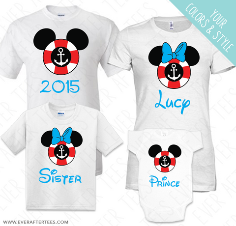 Cruise Lifesaver T-shirts . Mickey Ears Cruise Lifesaver Shirts For Your Disney Cruise.
