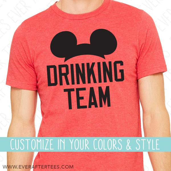 Epcot Drinking Team Shirts