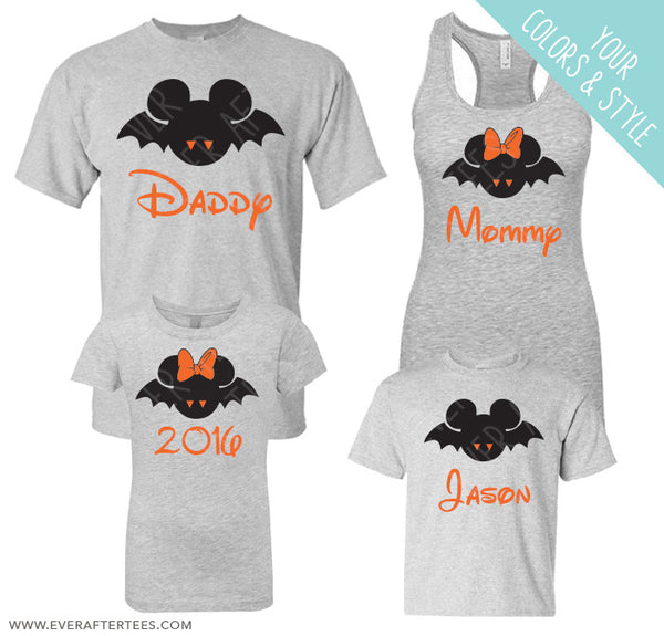 Mickey's Not So Scary Halloween Party Shirts
