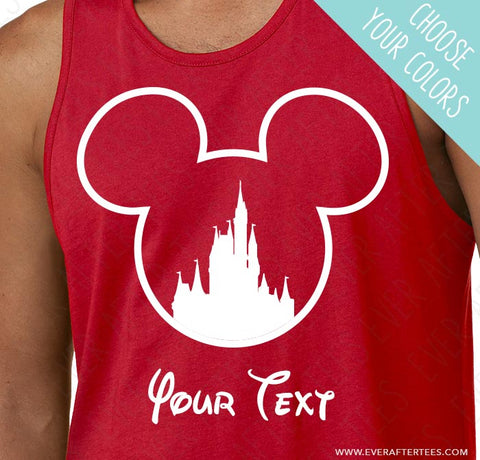 accbd5232 CUSTOMIZE - Matching Ears Disney Family Vacation Christmas T-shirts – Ever  After Tees