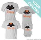 Disney Halloween Family Vacation Shirts