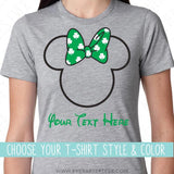 CUSTOMIZE - St. Patricks Mouse Ears w/ a Shamrock Bow