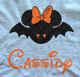 Mickey and Minnie Inspired Bat T-shirts | MNSSHP Vacation Shirt | Matching Halloween Disney Shirts for the Whole Family
