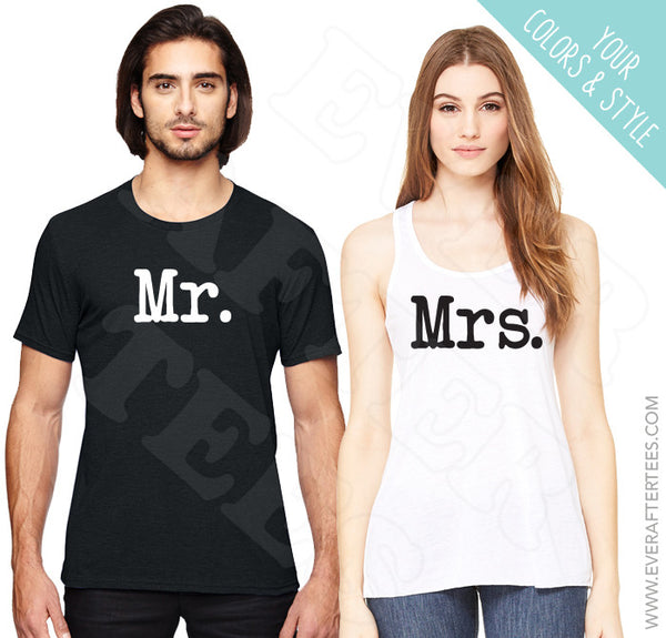 Mr. & Mrs. Tees