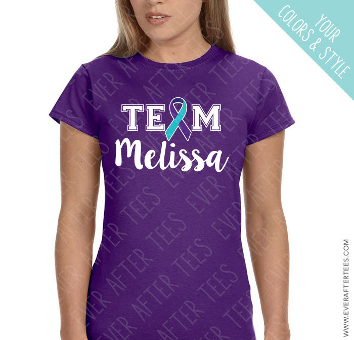 Team 'Name' Shirts - Out of the Darkness Walk