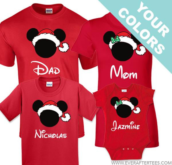 74552486fbf mvmcp shirts customize color styles disney family vacation christmas party t  shirts
