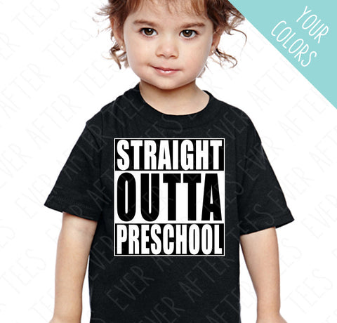 Straight Outta School Tshirt