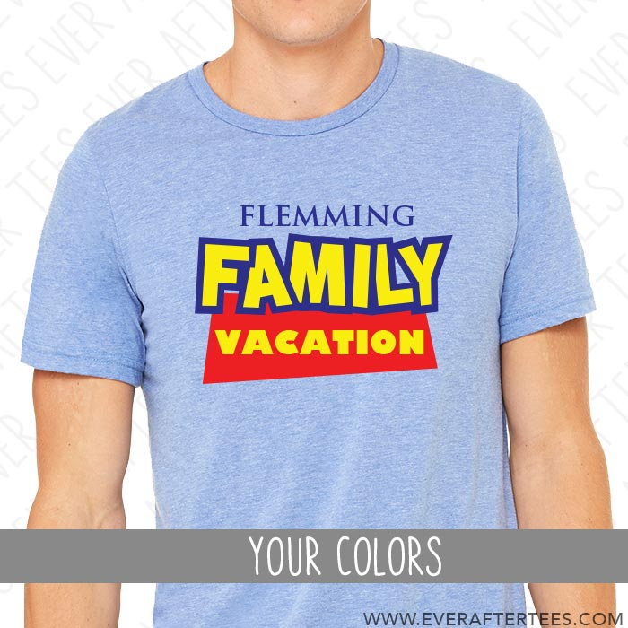 d70e41cbd Toy Story inspired Family Vacation T-shirts . Matching Family Disney V –  Ever After Tees