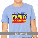 Toy Story Inspired Disney Family Vacation Matching Shirts